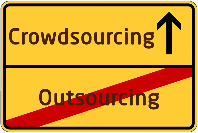 Outsourcing-Crowdsourcing